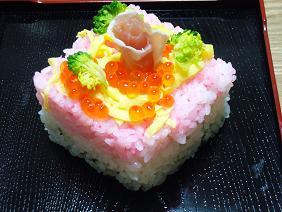 ひしもち風のお寿司♪