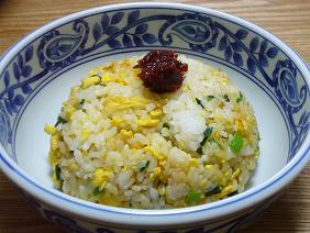 ニラ玉炒飯