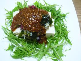 豆腐と海草サラダ