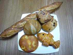 メゾンカイザーで買ったパン