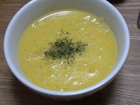 春雨入り中華風コーンスープ