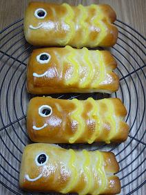 こいのぼりパン