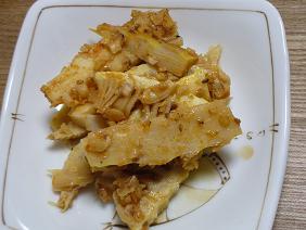 ピリ辛筍煮