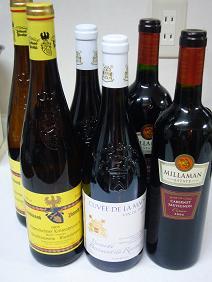贈られてきたワインたち♪