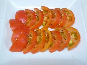 Tさん家で採れたトマト