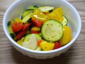 夏野菜のマリネ