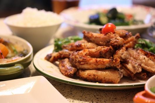 チキンのガーリック焼き
