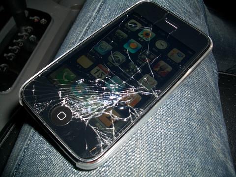 やっちゃったiPhone