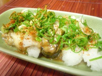 081025 牡蠣ポン酢