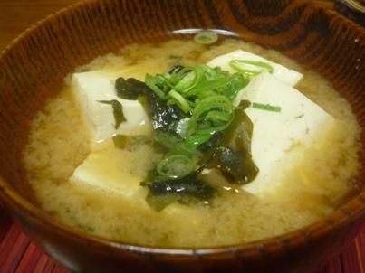 081028 豆腐のお味噌汁