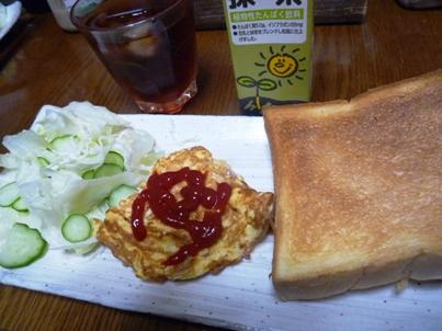 081110 朝ご飯