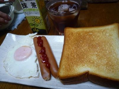 081111 朝ご飯