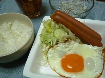 081113 ツマ朝ご飯