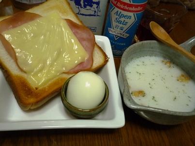 090604 朝ご飯