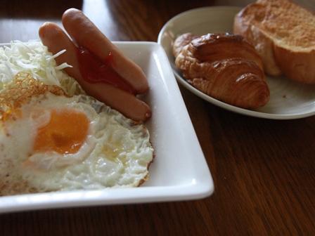 090714 朝ご飯