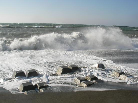 大晦日の海
