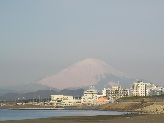 2月11日朝富士山