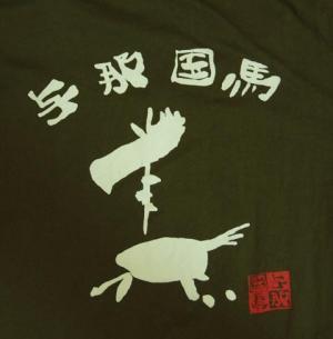 与那国馬Tシャツ(与那国島)