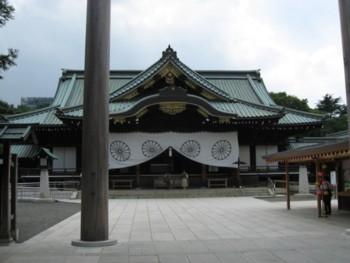 08靖国神社拝殿