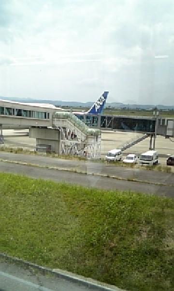 富山空港。