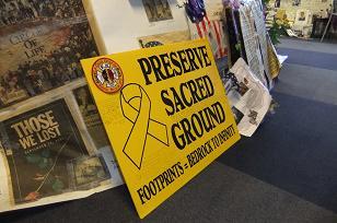 PRESERVE SACRED GROUND