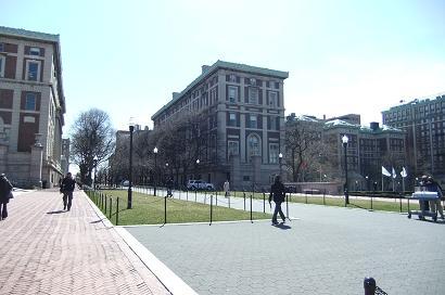 コロンビア大学構内