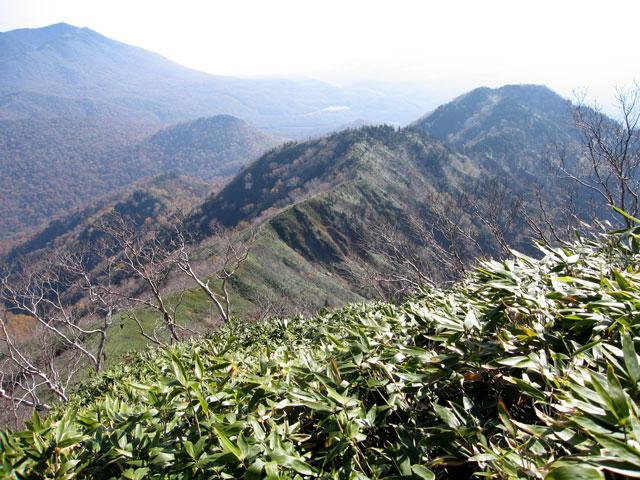 五地蔵山へ