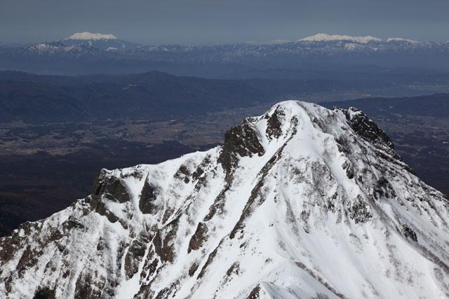 御嶽山と乗鞍岳