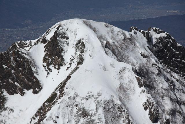 阿弥陀の山頂