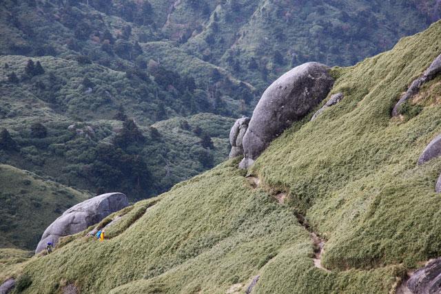 登山者2名