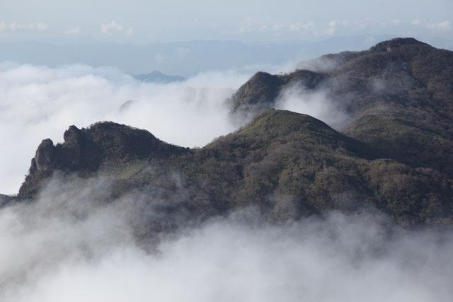 天狗と雲海