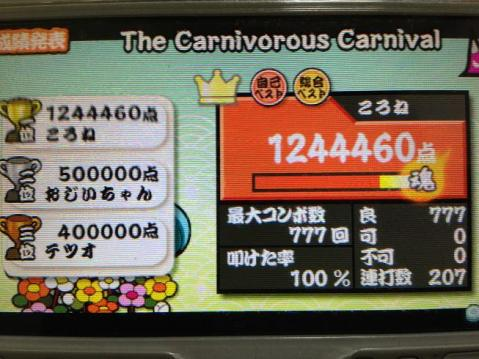 The Carnivorous Carnival 全良