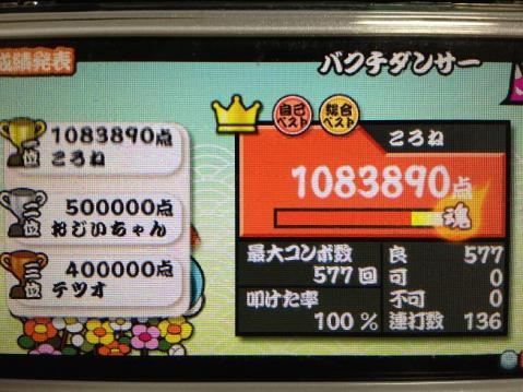 バクチダンサー 全良 108.3万