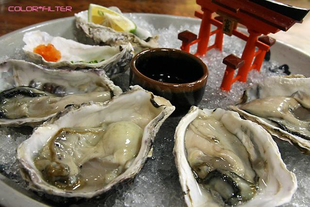 宮島の生牡蠣