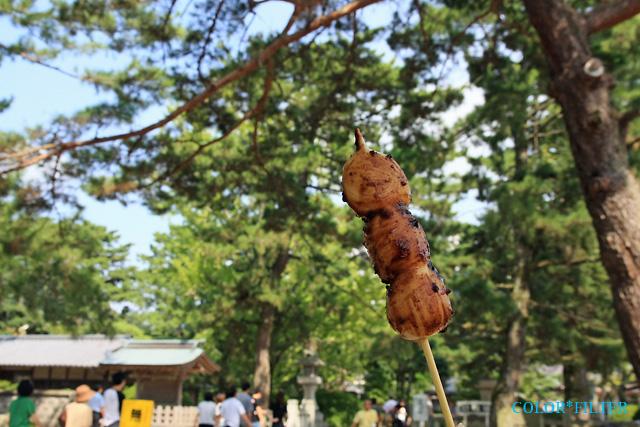 松陰神社だんご
