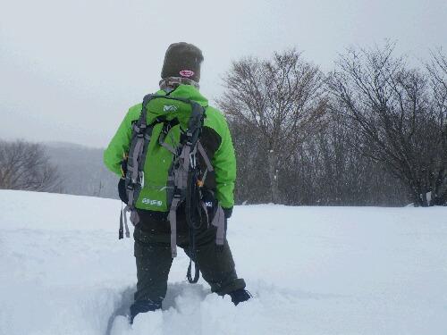 積雪150cm