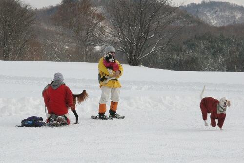 2011.01.15 第1回スノーシューたかつえ 30