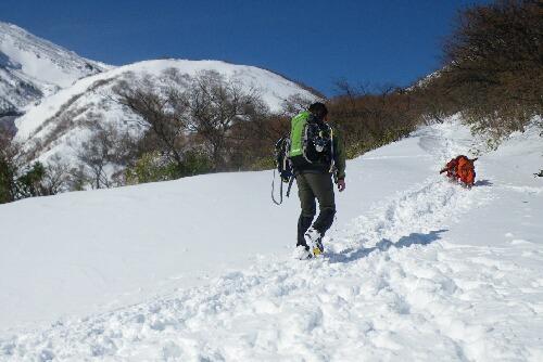 2011.02.02 茶臼岳へ
