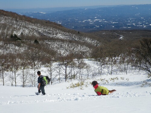 2011.02.16スノーシュー 私とスライゴ