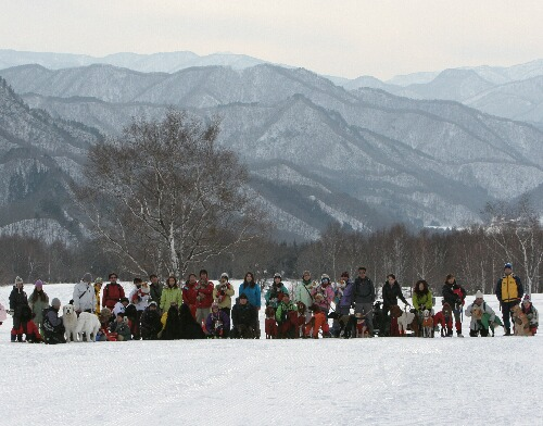 2011.02.20 第三回スノーシューたかつえ集合写真