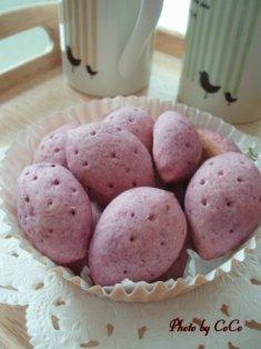 紫イモのクッキー