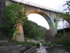 岩手軽便鉄道めがね橋