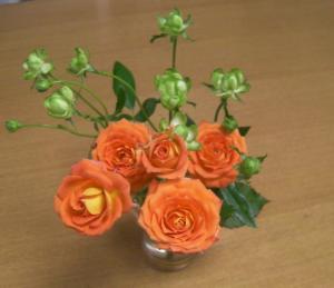 バラの花束