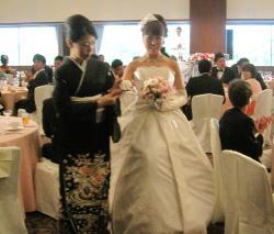 裕子の結婚 母と退場