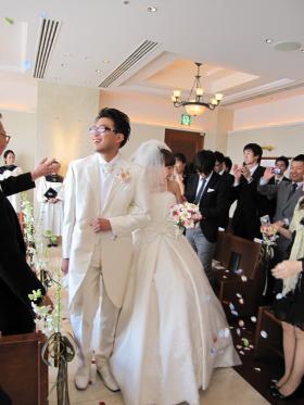 裕子の結婚 挙式