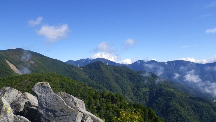 乾徳山10