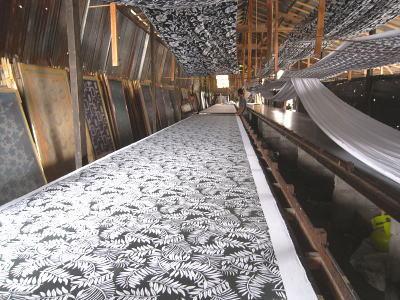 私達のパンツを染めてくれるプリント工場です!