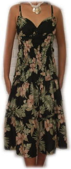 ハイビスカスドレス