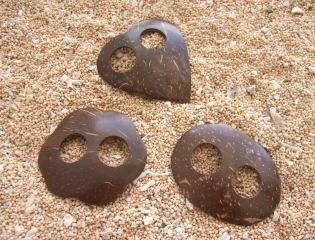 ココナッツのパレオクリップ
