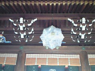 北野天満宮 社殿 鏡